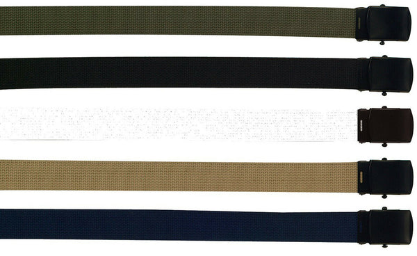 Uniform Military Tactical Web Belt Belts With Black Buckle Rothco 4294