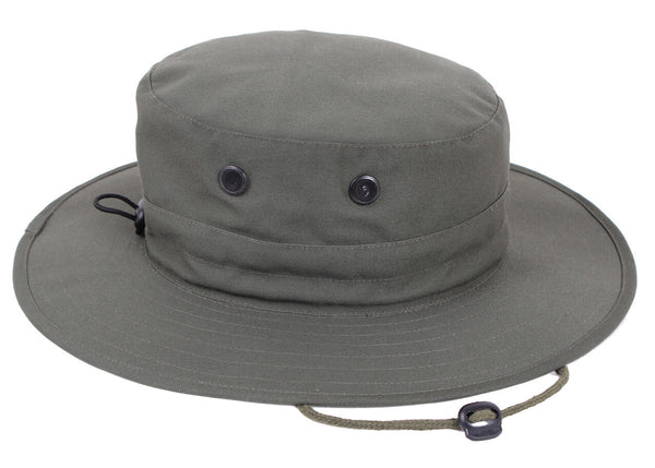 military style booniehat boonie jungle sun hat adjustable olive rothco 52555