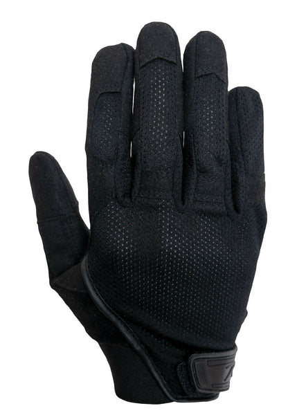 Tactical Mesh Glove Lightweight Black Gloves Touchscreen Compatible Rothco 3702