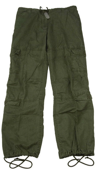 Womens Military Style OD Pants Cargo Olive Drab Fatigues Rothco 3186