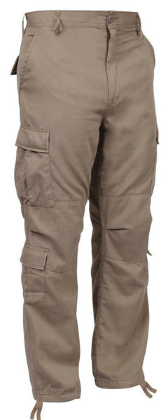 cargo pants khaki fatigues vintage look military style paratrooper rothco 2686