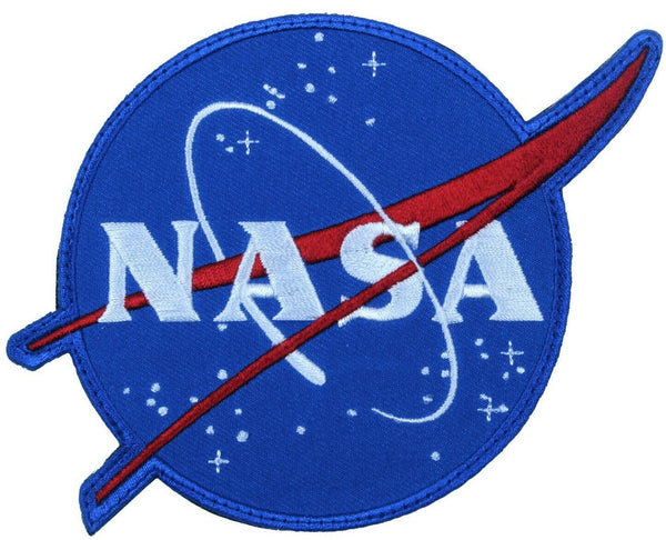 NASA Meatball Logo Patch Blue Hook and Loop Tactical Patch Rothco 1885