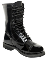 "Leather Military Style Jump Boots Black 10"" Army Jump Boot Rothco 5692"