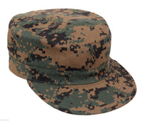 Military Style Fatigue BDU Cap Hat Woodland Digital Camo Adjustable Rothco 4544