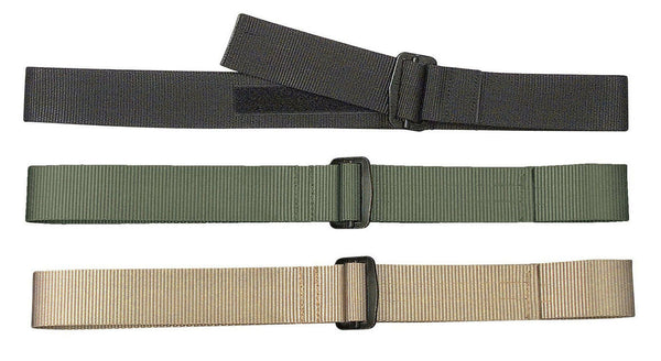 mens belt bdu military style riggers duty polypropylene metal buckle rothco 4597