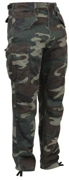Woodland Camo M-65 Vintage Style Field Pant Military Uniform Pants Rothco 2605