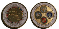 military coin camp baharia oif Iraq Iraqi Freedom War 2003-2010 Genuine