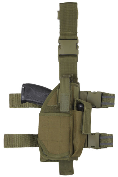 holster leg adjustable drop tactical deluxe olive drab fits most 10754 rothco