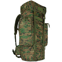 Military Backpack Rio Grande Woodland Digital Camo 75 l Pack Fox 54-07375T
