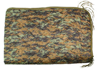 Rain Poncho Liner Blanket Sleeping Bag Woodland Digital Camo Rothco 8476