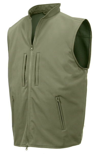 CCW Tactical Vest Soft Shell Concealed Carry Olive Drab Rothco 86800