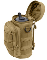 Molle Pouch Water Bottle Tactical Hydration Coyote Brown Rothco 2779