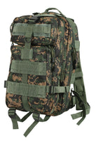 medium transport pack backpack military style woodland digital camo rothco 2559