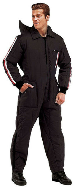 Black Cold Weather Ski Snow Rescue Insulated Coverall Suit Rothco 7022