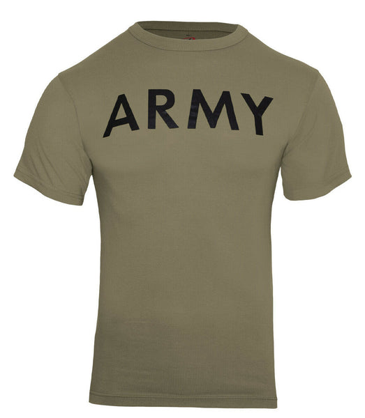 US Army Coyote Brown PT T-shirt OCP AR 670-1 Physical Training Shirt Rothco 3872