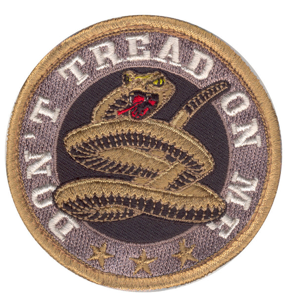 dont tread on me patch hook backing rothco 73193