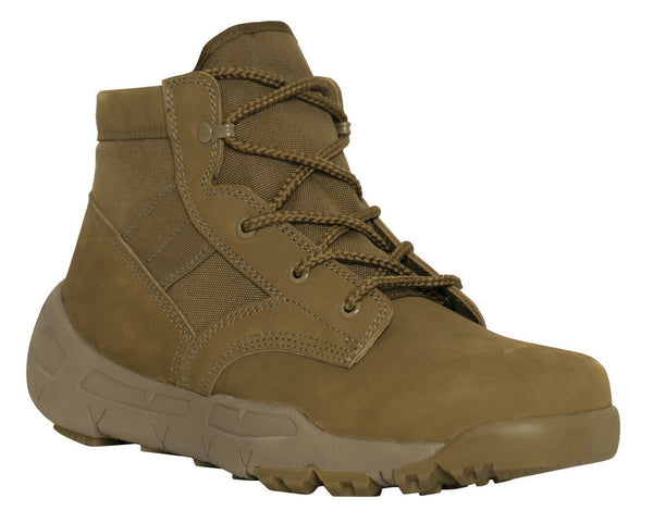 "US Army Coyote Brown Military Boot Lightweight V-Max 6"" Combat Boots Rothco 5365"