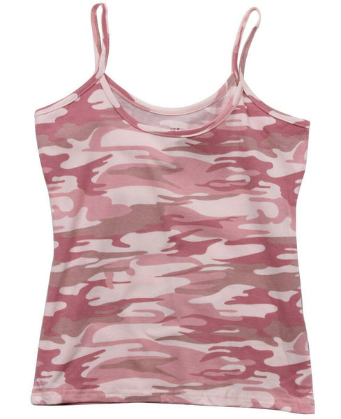 tank top camo womens subdued pink camo top only various sizes rothco 4976