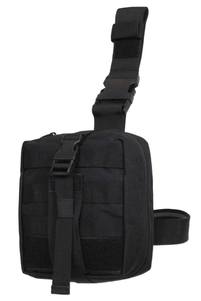 Black or Coytote Brown Tactical Medic Pouch Drop Leg Molle System Rothco 21755