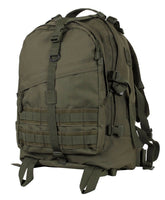 large military style transport pack backpack olive drab green bag rothco 72870