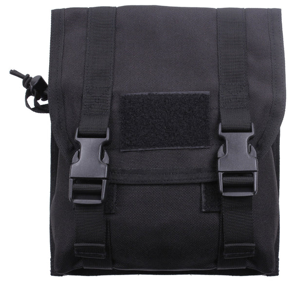 Tactical MOLLE Utility Rifle Magazine Pouch Black Rothco 5704