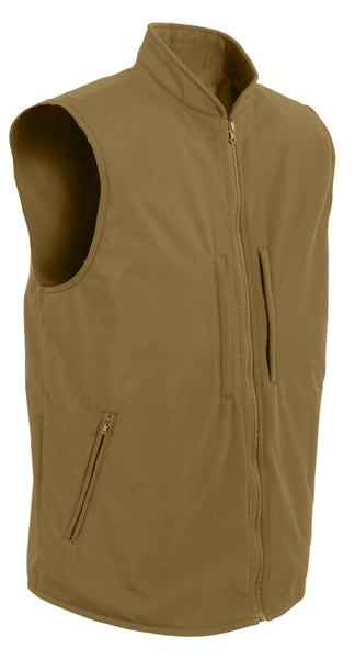 CCW Tactical Vest Soft Shell Concealed Carry Coyote Brown Rothco 86600
