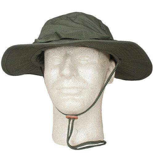 OD Booniehat Olive Drab Rip Stop Jungle Sun Boonie Hat Fox Outdoor 75-10