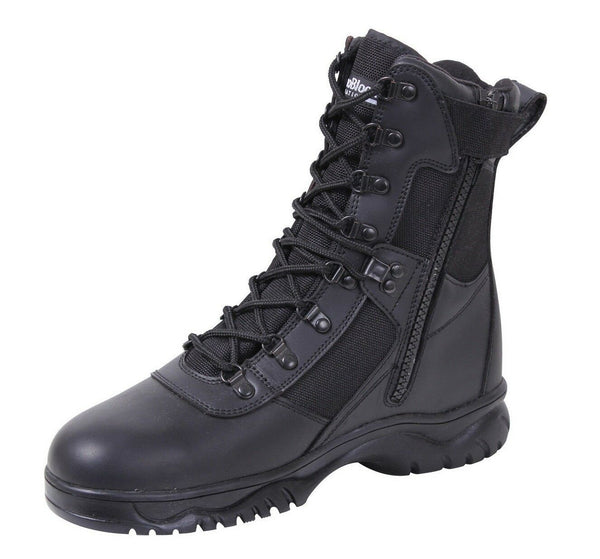 tactical winter leather boots insulated waterproof military boot rothco 5073