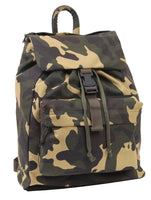pack backpack daypack canvas woodland camo rothco 2370