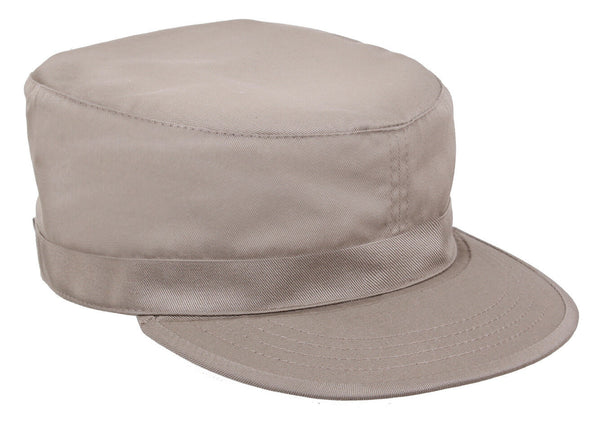 Military Style Adjustable Fatigue Uniform Cap Hat Khaki Rothco 93440