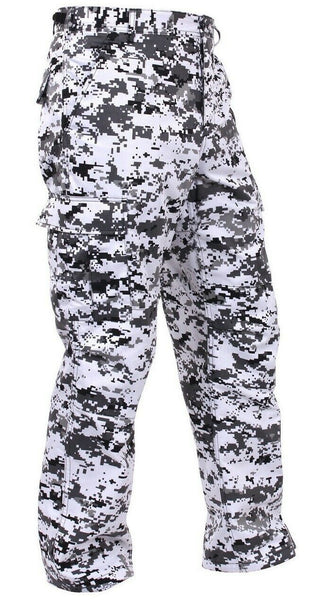 Military Camo Pants City Urban Digital Camouflage BDU Trousers Rothco 99630