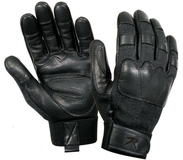 tactical gloves leather cut and flame resistant rothco 3483 various sizes