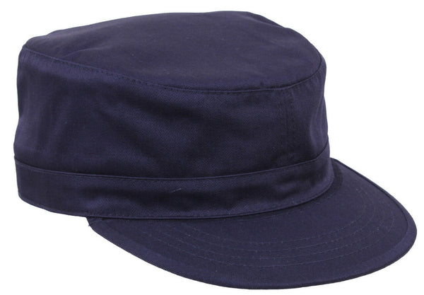 Military Style Adjustable Fatigue Uniform Cap Hat Navy Blue Rothco 93441