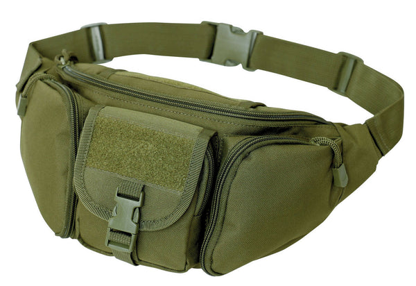 Tactical Concealed Carry Fanny Waist Pack CCW Bag Olive Drab Green Rothco 4960