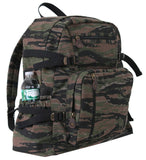camo backpack tiger stripe camouflage vintage style rucksack rothco 9712