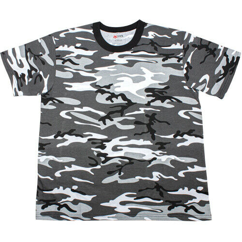 Urban Camo T-shirt City Camouflage Shirt Fox Outdoor 64-19 various sizes