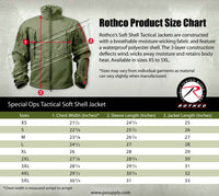 soft shell jacket black ccw concealed carry tactical coat mens rothco 55385
