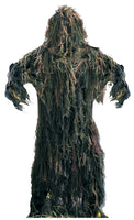 Lightweight All Purpose Tactical Ghillie Suit Woodland Camo Rothco 64127