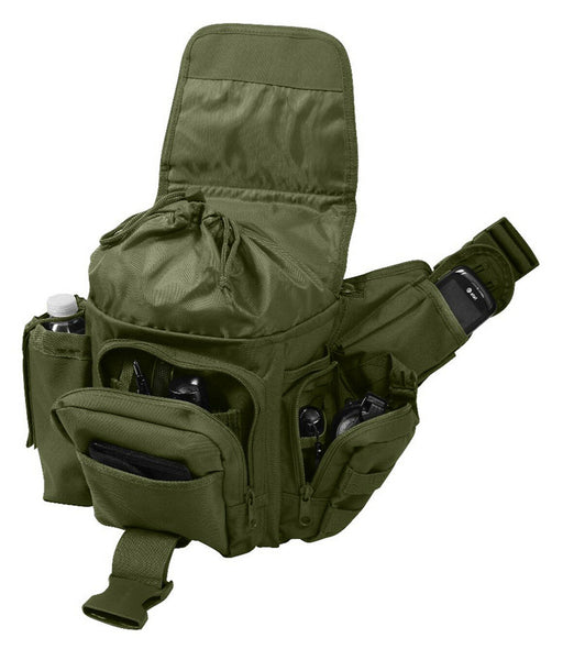 tactical shoulder bag modular molle olive drab advanced pack rothco 2428