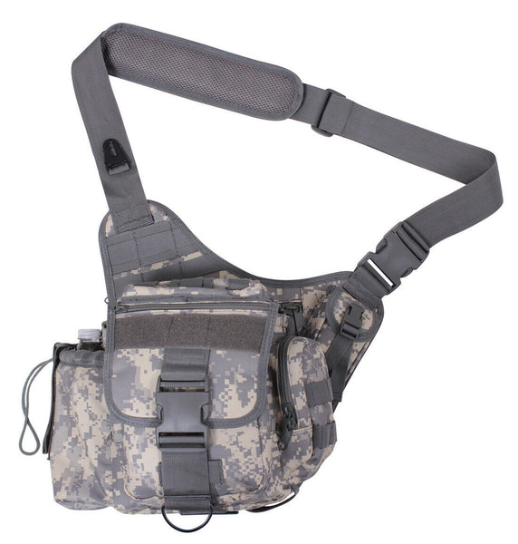 ACU Digital Camo Tactical Shoulder Bag Modular Molle Advanced Pack Rothco 2348