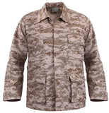 Kids Military Style BDU Coat Shirt Desert Digital Camo Camouflage Rothco 66225