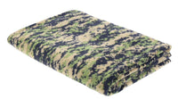 "FLEECE BLANKET WOODLAND DIGITAL CAMO 60"" X 80"" ROTHCO 10569"