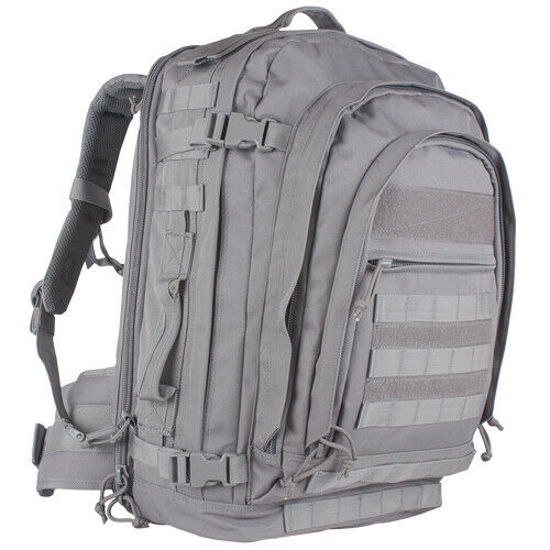 Gray Backpack Military Style Field Operators Action Pack Tactical Fox 56-580