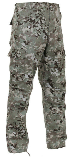 bdu pants pant military style cargo total terrain camo rothco 95471