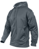tactical ccw hoodie hooded sweatshirt grey concealed carry handgun rothco 2075