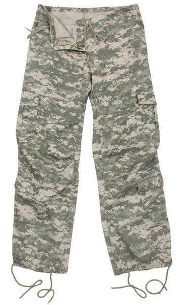 Womens Army Pants ACU Digital Camo Camouflage Fatigues Rothco 3396