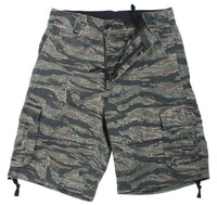 shorts camo tiger stripe vintage military style infantry utility rothco 2214