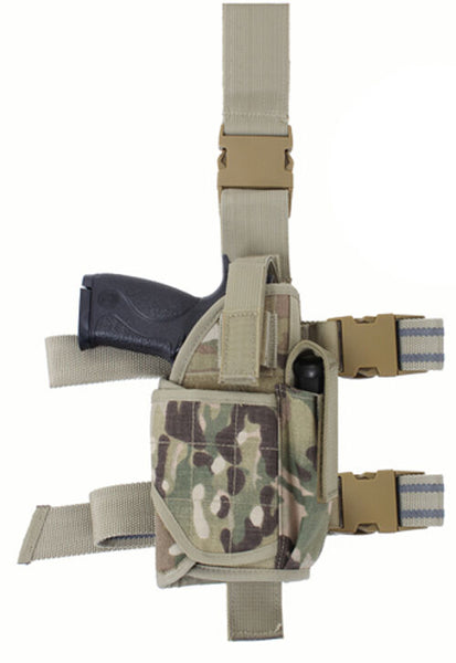 holster leg adjustable drop tactical deluxe multicam fits most 10751 rothco