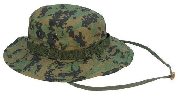 Tactical Boonie Hat Woodland Digital Camo Sun Jungle Camouflage Hat Rothco 5827