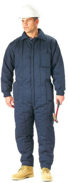 coverall insulated snow dress cold weather navy blue various sizes rothco 2025